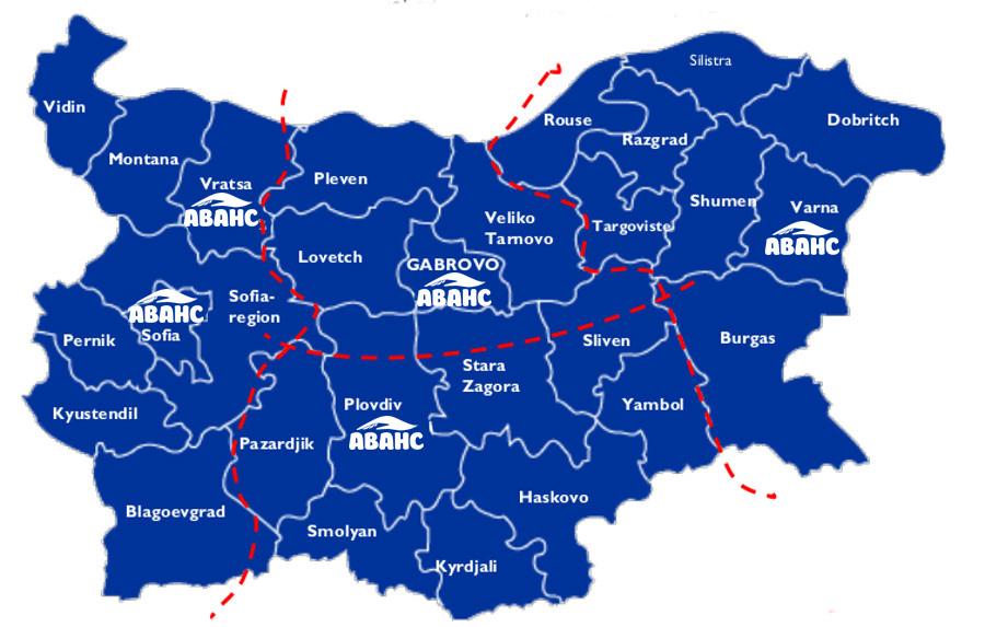 map Regionalni Ofisi EN